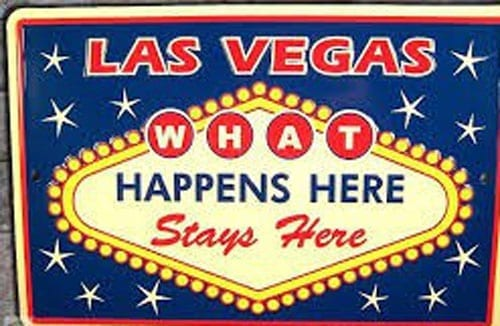 The' 'What Happens In Vegas, Stays In Vegas' Slogan Is Back